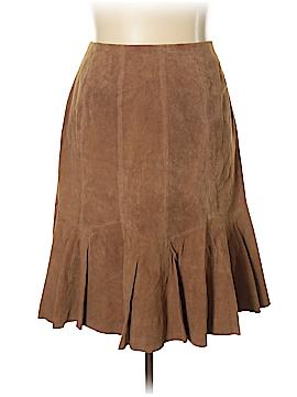 Jessica London Leather Skirt Size 16