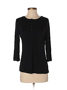 Laura Ashley 3/4 Sleeve Henley Size S (Petite)