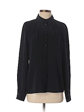 Escada Long Sleeve Silk Top Size 40 (FR)