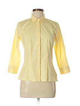 Sutton Studio 3/4 Sleeve Button-Down Shirt Size 6