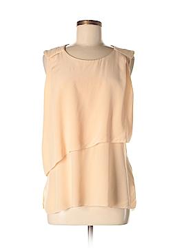 Le Fou Short Sleeve Silk Top Size M
