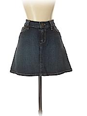 ABS Evening by Allen Schwartz Women Denim Skirt 28 Waist