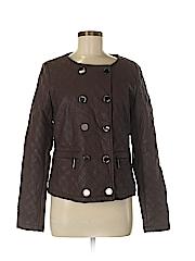 Vertigo Paris Women Faux Leather Jacket Size M