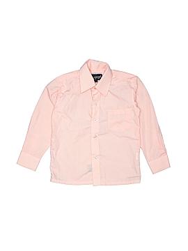 Vangogh Long Sleeve Button-Down Shirt Size 4T