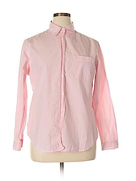 Evan Picone Long Sleeve Button-Down Shirt Size 14