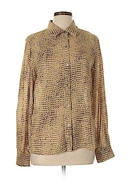 Susan Bristol Long Sleeve Blouse Size L