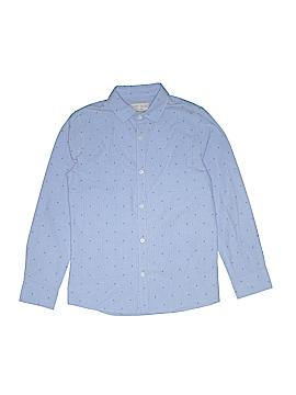 Zara Kids Long Sleeve Button-Down Shirt Size 12
