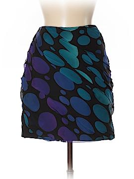 Diane von Furstenberg Silk Skirt Size 8