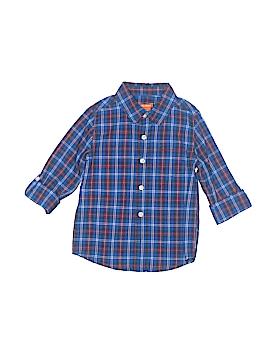 Joe Fresh Long Sleeve Button-Down Shirt Size 4