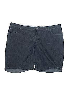 Lee Denim Shorts Size 24w (Plus)