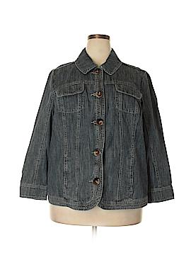 Cj Banks Denim Jacket Size 2X (Plus)