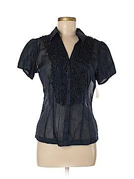 Nic + Zoe Short Sleeve Blouse Size M