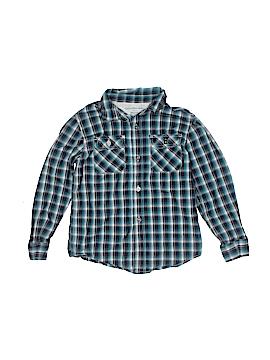 CALVIN KLEIN JEANS Long Sleeve Button-Down Shirt Size 5T