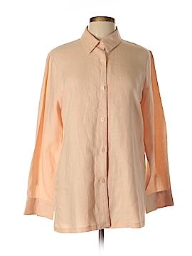 Louben Long Sleeve Button-Down Shirt Size 12