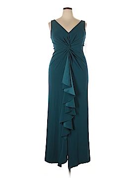 Teri Jon by Rickie Freeman Cocktail Dress Size 16