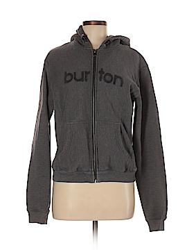 Burton Zip Up Hoodie Size M