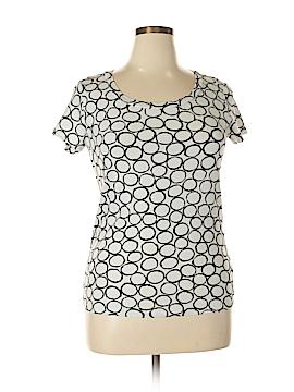 Nicole Miller Short Sleeve Top Size XL