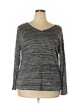 Sejour Sweatshirt Size 1X (Plus)
