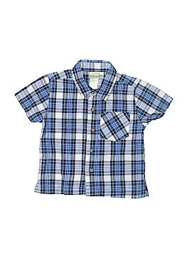 Kidgets Short Sleeve Button-Down Shirt Size 2T