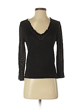 Jigsaw Silk Pullover Sweater Size S
