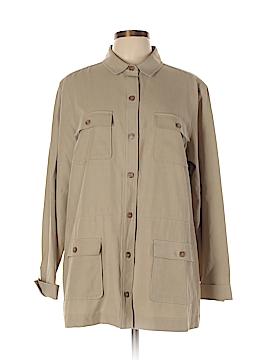 Pendleton Long Sleeve Silk Top Size XL