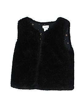 Dreampop by CYNTHIA R. Faux Fur Vest Size 10 - 12