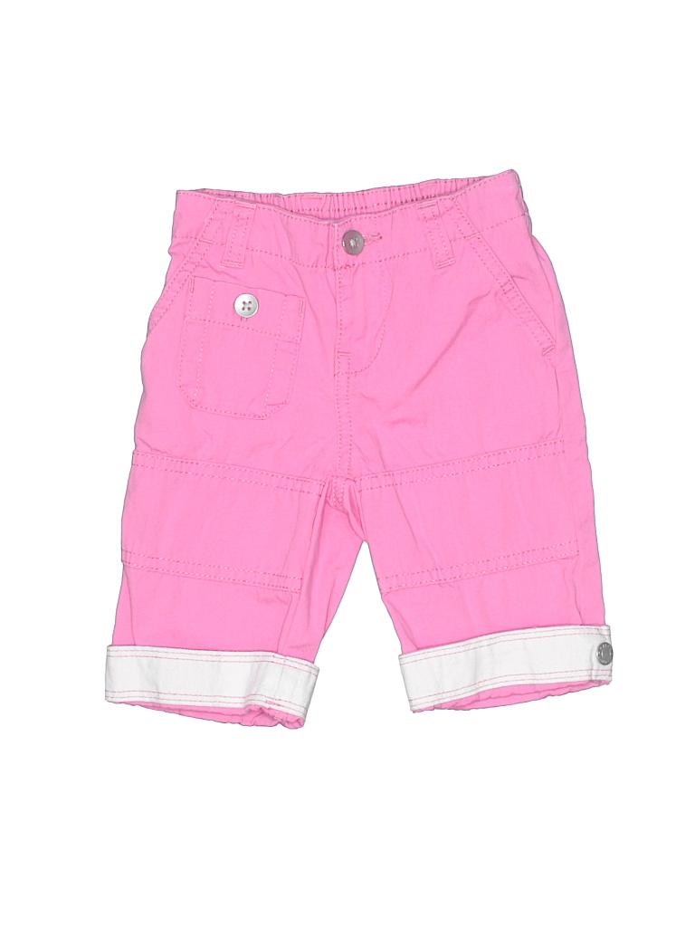6378b06ae6c Lands  End 100% Cotton Color Block Pink Khakis Size 9 mo - 93% off ...