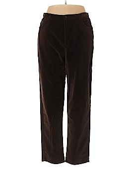 Jones New York Sport Velour Pants Size 16