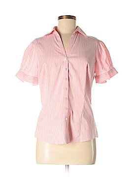 Stile Benetton Short Sleeve Button-Down Shirt Size M