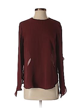 A.L.C. Long Sleeve Silk Top Size 2