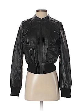 Love Culture Faux Leather Jacket Size S