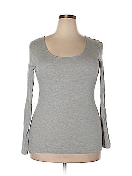 Joan Vass Long Sleeve T-Shirt Size 14 (3)
