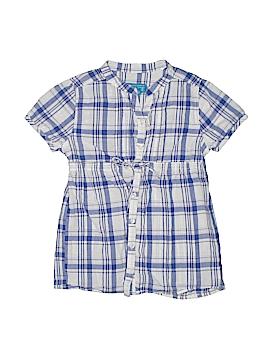 The Children's Place Short Sleeve Button-Down Shirt Size 7