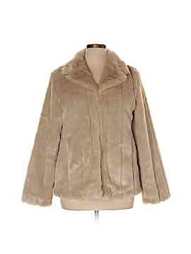 Nine West Faux Fur Jacket Size 14
