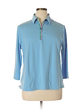 Draper's & Damon's 3/4 Sleeve Polo Size XL