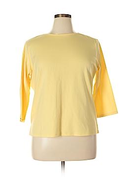 Draper's & Damon's 3/4 Sleeve T-Shirt Size XL