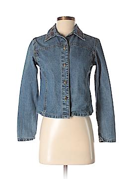 Petite Sophisticate Denim Jacket Size XS