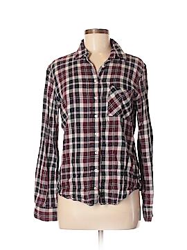 Aeropostale Long Sleeve Button-Down Shirt Size 16