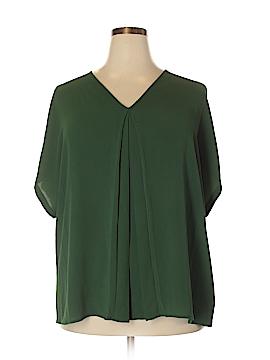 MICHAEL Michael Kors Short Sleeve Blouse Size 2X (Plus)