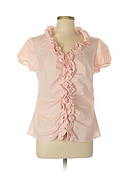 Ann Taylor LOFT Outlet 3/4 Sleeve Button-Down Shirt Size 12