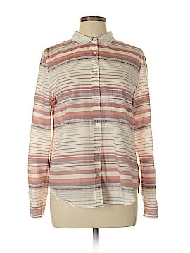 Sanctuary Long Sleeve Button-Down Shirt Size L