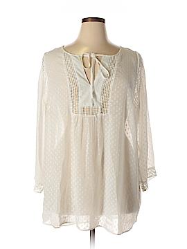 Avenue Long Sleeve Blouse Size 24 (Plus)
