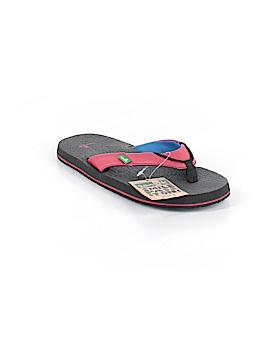 Sanuk Flip Flops Size 5 - 6 Youth