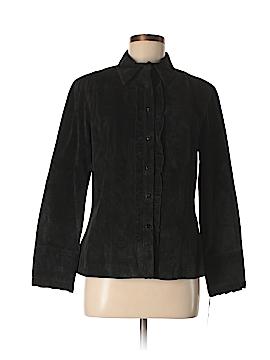 Etcetera Leather Jacket Size 8