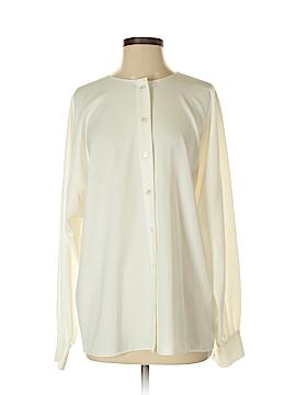 Pink Tartan Long Sleeve Blouse Size XS