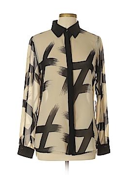 Iris Setlakwe Long Sleeve Blouse Size 10