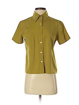 Isda & Co Short Sleeve Silk Top Size S