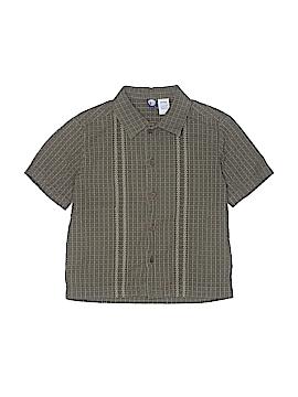 G Short Sleeve Button-Down Shirt Size 3 - 4