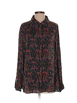 Foxcroft Long Sleeve Blouse Size 16W