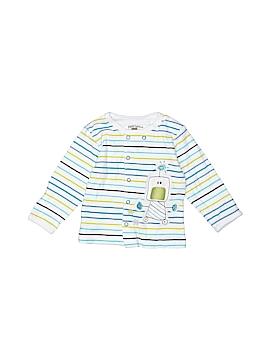 Petit Lem Long Sleeve Button-Down Shirt Size 6 mo